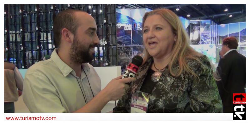 Silvina Arrieta en Feria Internacional de Turismo FIT 2016