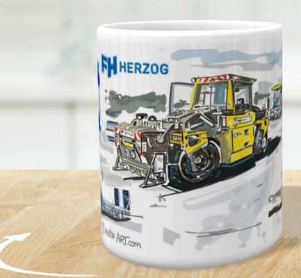 Firmentassen Herzog AG- weitere Nutzung der digitalen Zeichnung