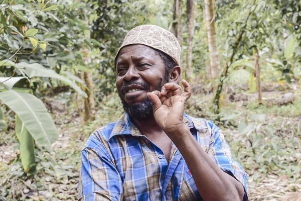 Kleinbauer in Sansibar, über Soul Spice