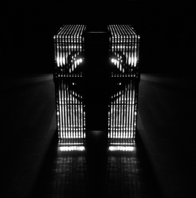 Modalakustik MusikBass Ripol Subwoofer Ripolsubwoofer Ridtahler Musiksubwoofer light LED acrylic