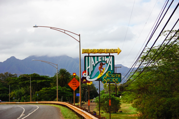 Haleiwa - North Shore surf  Mecca