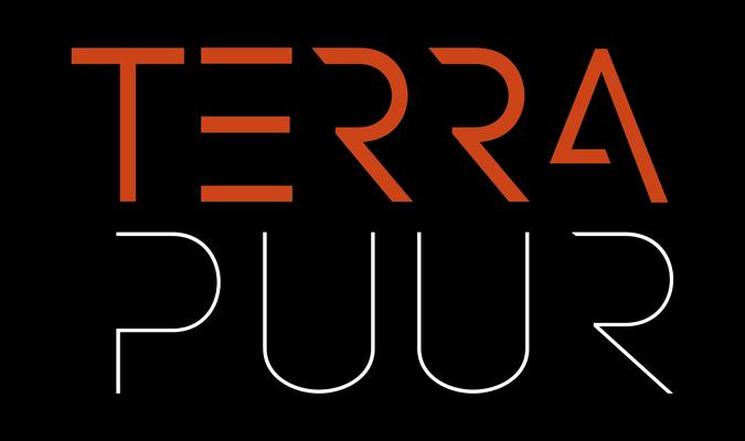 Terrapuur, logo, hoveniers, grafisch, design, ontwerp, visitekaartje