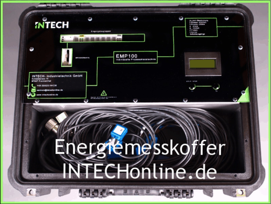 Energiemesskoffer von INTECHonline.de • Quelle: Bild des Produzenten