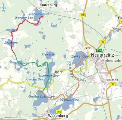 Diese Kanutour führt euch durch die traumhafte Natur des Müritz-Nationalparks