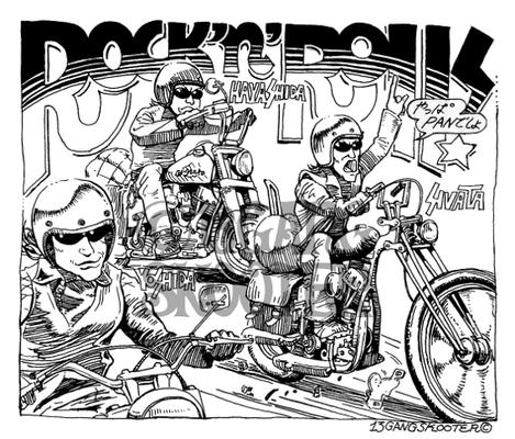 VIBES MAGAZINE トラブルチャンプリターンズ 2016年3月号一コマ漫画