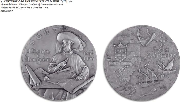 João da Silva - Medalha 5º centenário da morte do Infante D. Henrique