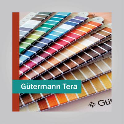 Нитки швейные Gütermann Tera.