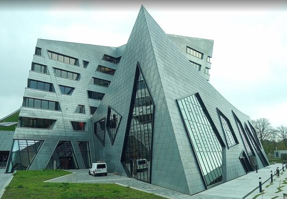 das Zentralgebäude der Universität Leuphana