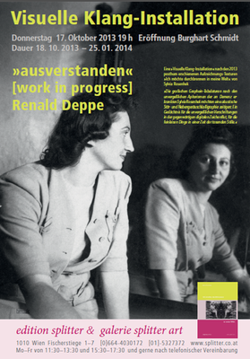 Visuelle Klanginstallation »ausverstanden« [work in progress] Renald Deppe