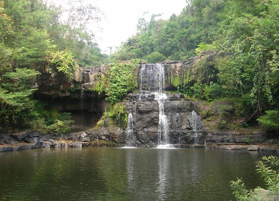 Waterfall on Koh Kood