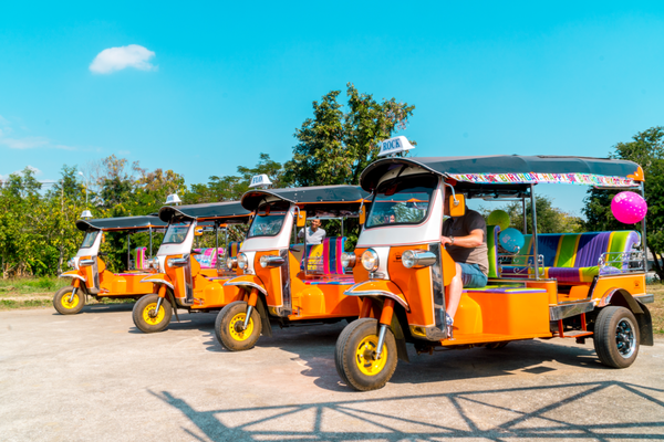 Our Tuk Tuk Fleet