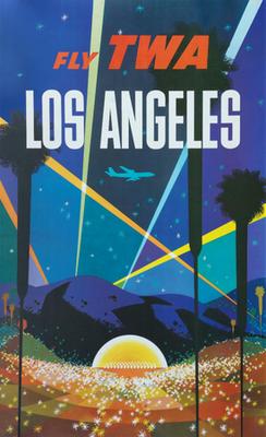 TWA - Los Angeles - David Klein