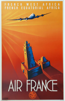 Air France - French West and Equatorial Africa - Edmond Maurus