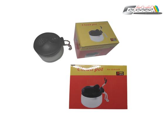 Cleanpot klein mit Airbrushhalter