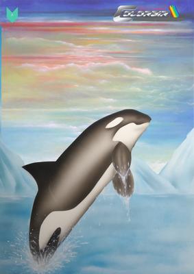 Orca Airbrushvorlage