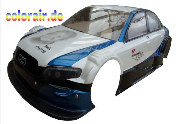RC Car Modellbau Lackierung