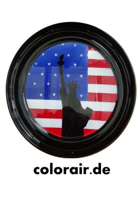 Deckel im US Design Stars and Stripes