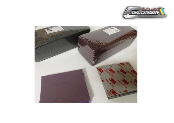 Schleifmittel und Softpads von P 800 bis P 2000