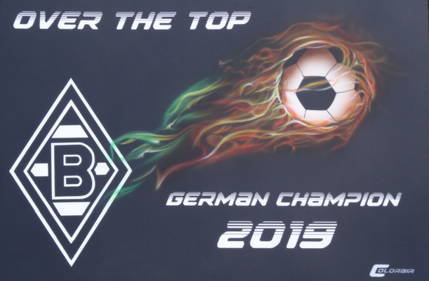 Borussia Champion Over the Top Airbrush, Just for Fun