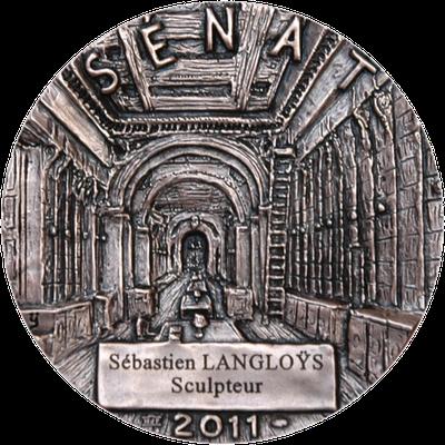 Sculpture-buste-statue-bronze-sulpteur-Langloys-Médaille-Sénat