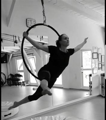 Aerial Hoop bei Miriam Dankert, Kiel