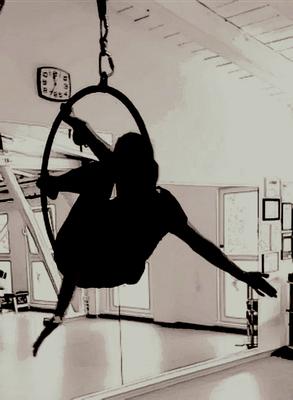 Aerial Hoop bei Miriam Dankert, Kiel - ProMentalis Daniela Lafrentz