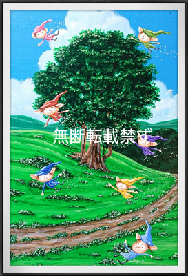 木と妖精1