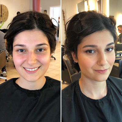 Braut Make-Up für Dilan