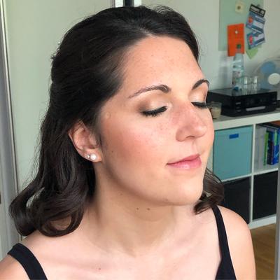 Braut Make-Up für Tanja