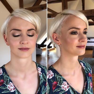 Braut Make-Up für Ina