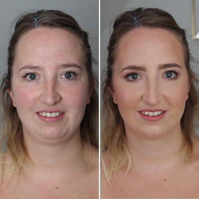 Braut Make-Up für Sarah