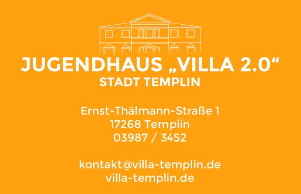 """Die Visitenkarte der """"Villa 2.0"""""""