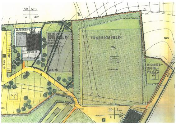 Planungen aus dem Jahr 1974 (2)