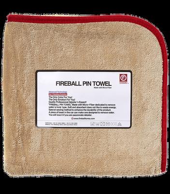 FIREBALL PIN TOWEL