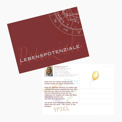 Postkarte | Tools: Photoshop, Illustrator