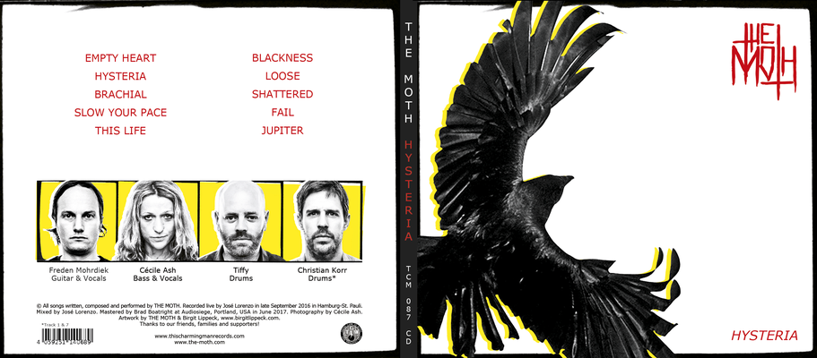 The Moth - CD Cover front & back