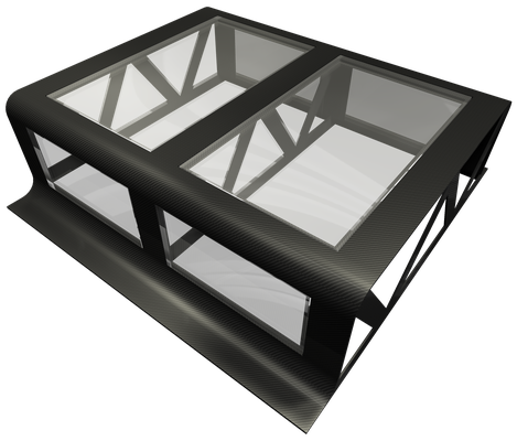Carbon Fiber NR Design Coffee Table
