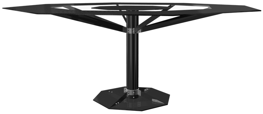 Carbon Fiber NR Design Dining Room Table