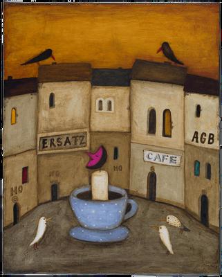 Nachtcaffee · Acryl/Leinwand · 40x50cm
