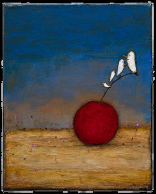 Stil Voll · Acryl · Acryl/ Leinwand · 24 x 30 cm