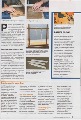 ANTIQUITÉS BROCANTE PAGE 59 - RELIURE GOURDELIER