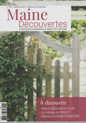 """MAINE DECOUVERTE - """" Une vie au milieu des livres """" Michel Gourdelier reliure LE MANS"""