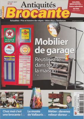 ANTIQUITÉS BROCANTE couverture - MICHEL GOURDELIER RELIEUR -Droits réservés