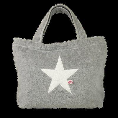 Poolbag silber, Stern white, Maße: Höhe 33 cm, Breite 45 cm, Höhe 55 cm mit Träger Waschbar bei 30°C, 79€