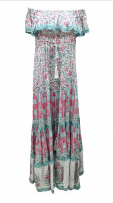 Dress Luisa, türkis/pink, one size, 100% Modal 149€