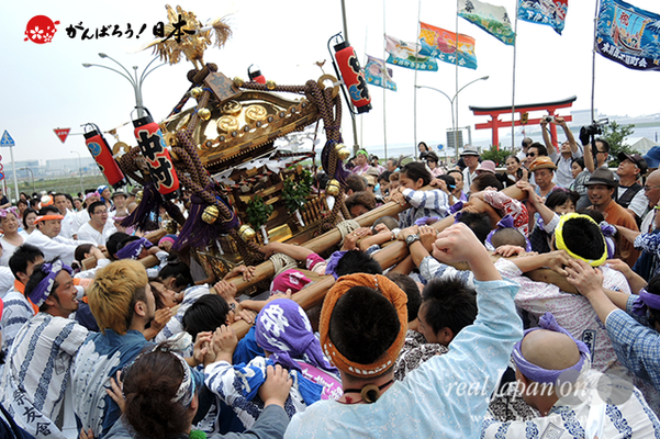 〈2014年 羽田まつり・各町神輿連合渡御〉中村祭友會