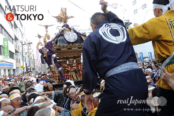 〈下谷神社大祭〉本社神輿渡御 2016.05.08 ©real Japan 'on! (sty16-028)