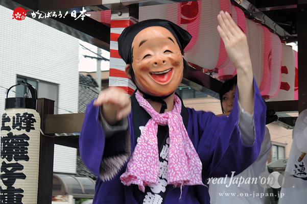 与野夏祭り:本町通り渡御〈上峰囃子連〉@2014.07.19