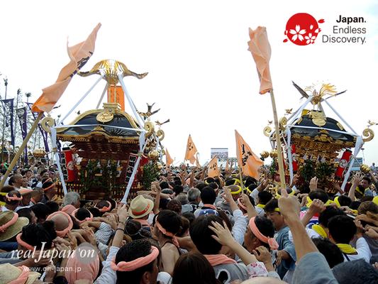 2016年度「浜降祭」柳島 八幡宮/南湖下町 住吉神社 2016年7月18日 HMO16_038