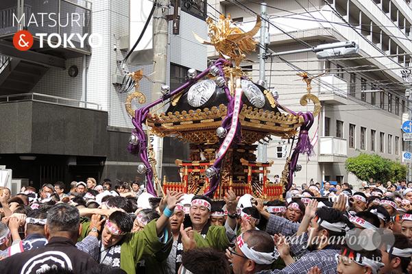 〈下谷神社大祭〉本社神輿渡御 2016.05.08 ©real Japan 'on! (sty16-002)